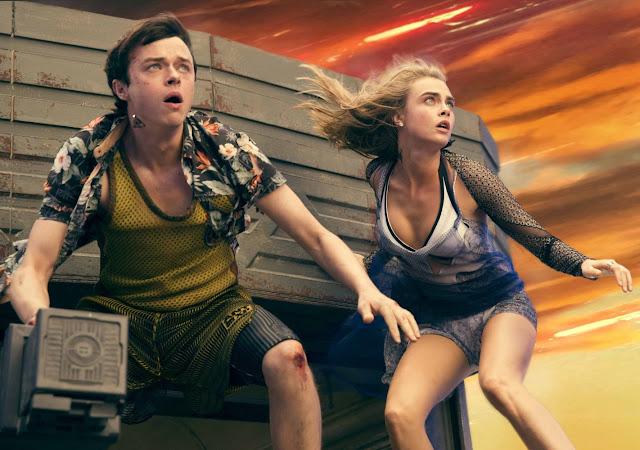 Los protagonistas de la película Valerian y la ciudad de los mil planetas que ha sido dirigida por Luc Besson