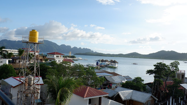 view from viewdeck grill coron