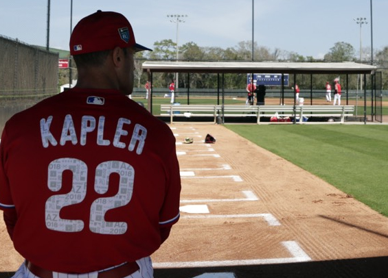 Philadelphia manager Gabe Kapler takes unique methods to spring training