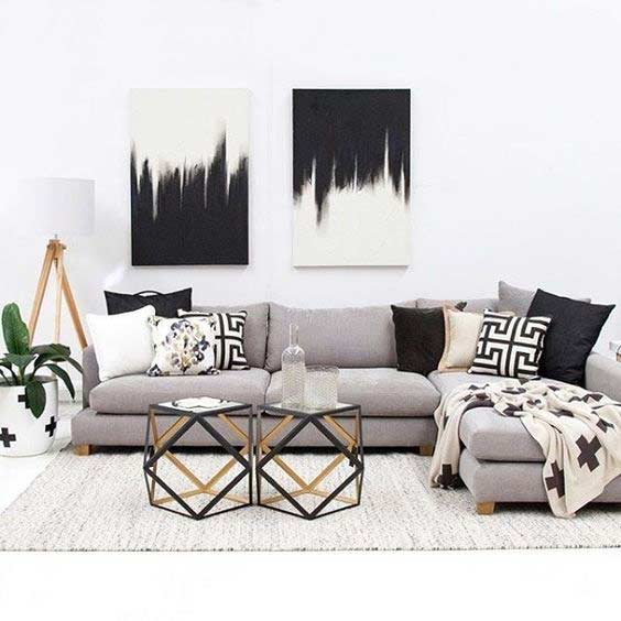 3D modular painting - the best solution for wall art design