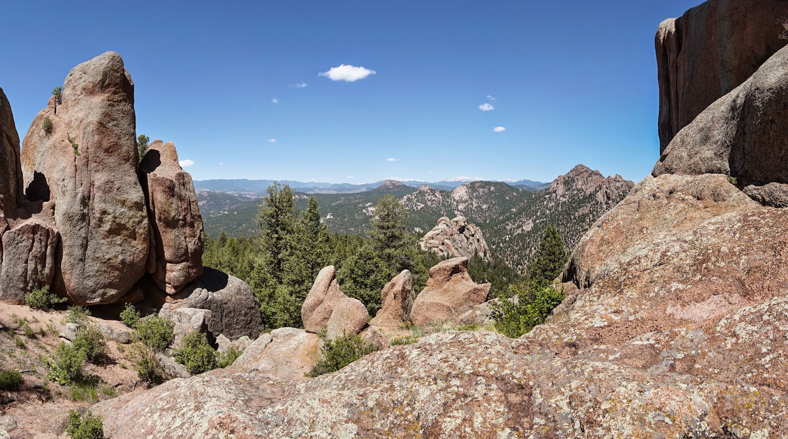 Go Hike Colorado: Chair Rocks via Colorado Trail Segment 2