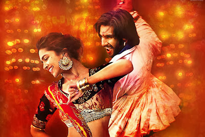 Deepika and Ranbir in Ram Leela