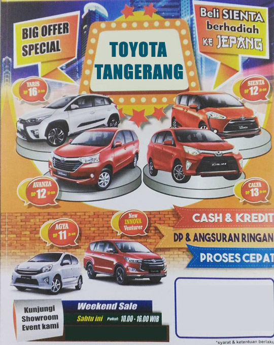 Toyota Sudirman Babakan Tangerang City