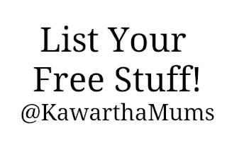 img Kawartha Lakes Freebies List Your Free Stuff @KawarthaMums