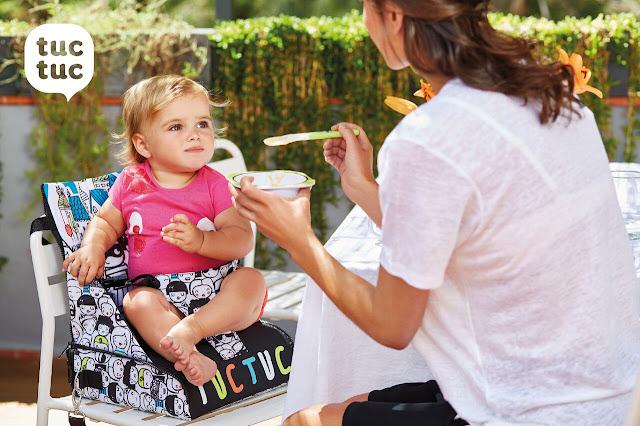 Cosa portare in vacanza con bimbi piccoli alzasedia portatile