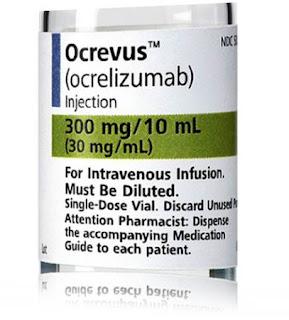 EMA pareri pozitive OCREVUS Scleroza Multipla