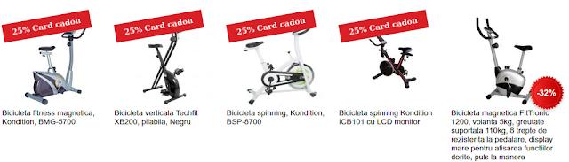 Alege si cumpara de aici bicicleta fitness online