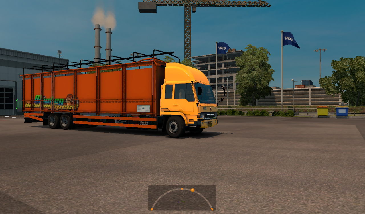 Fuso Smt V3 Ets2 Simulator Mods Euro Truck 2 V130 Dan Mod Indonesia By