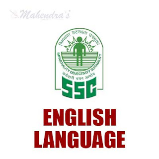 SSC CPO : English Language Quiz | 31 - 08 - 18