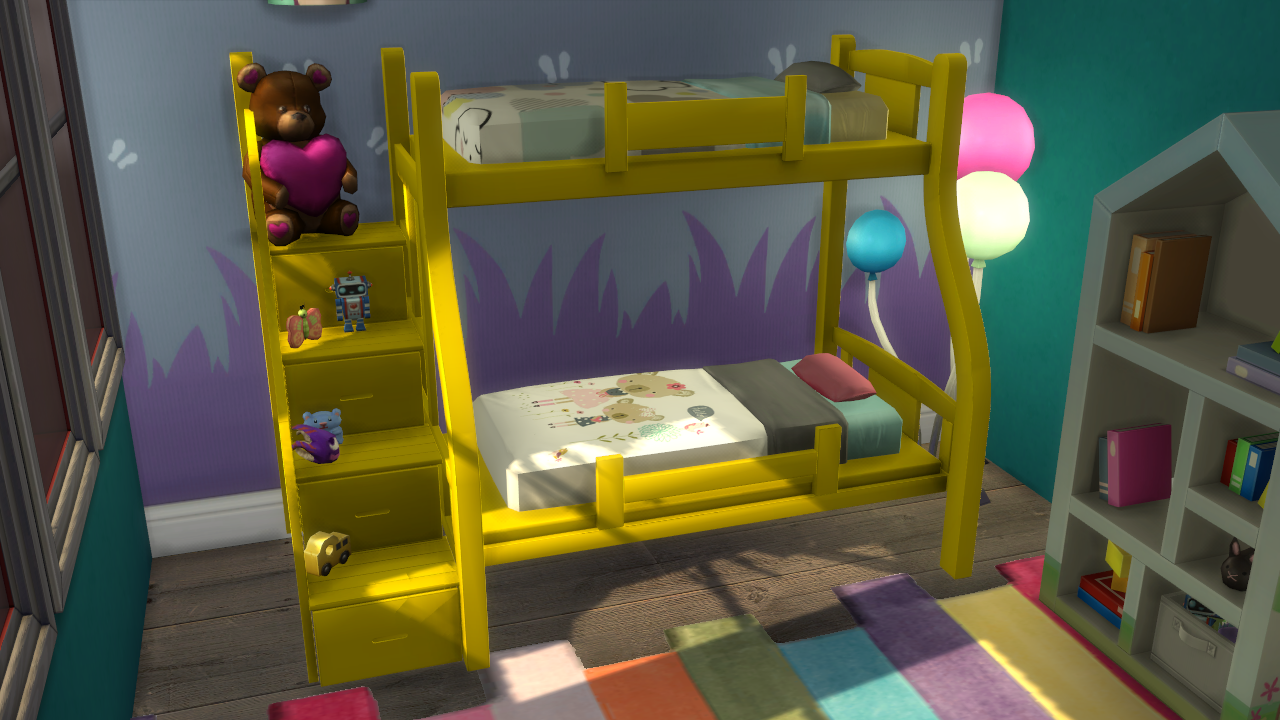 Bunk Bed for Toddlers | Enure Sims