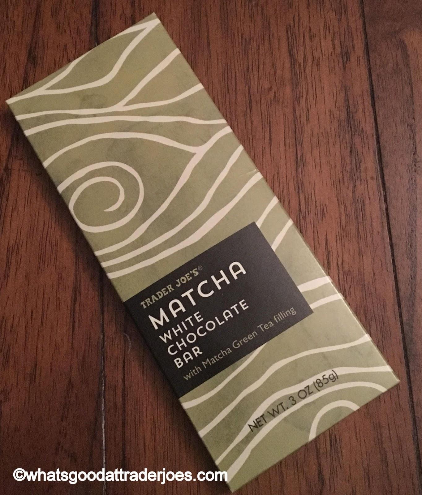 What's Good at Trader Joe's?: Trader Joe's Matcha White Chocolate Bar