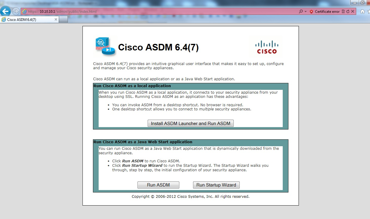 ASA 8 4 with ASDM on GNS3 - Step by Step Guide - XeruNetworks