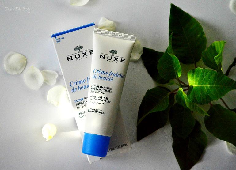 NUXE Crème fraîche® de beauté Emulsja o 24-godzinnym działaniu nawilżającym i kojącym