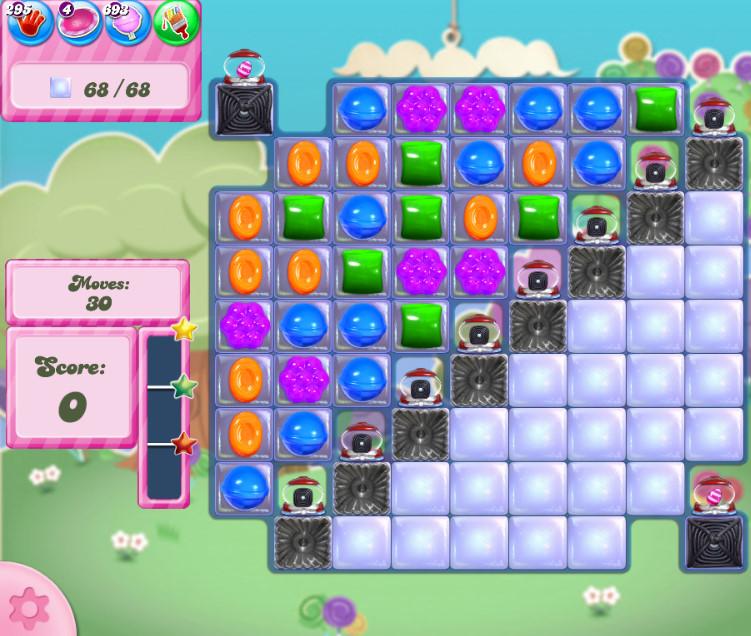 Candy Crush Saga level 2816