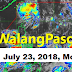 #WalangPasok: Clas suspension on Monday, July 23, 2018
