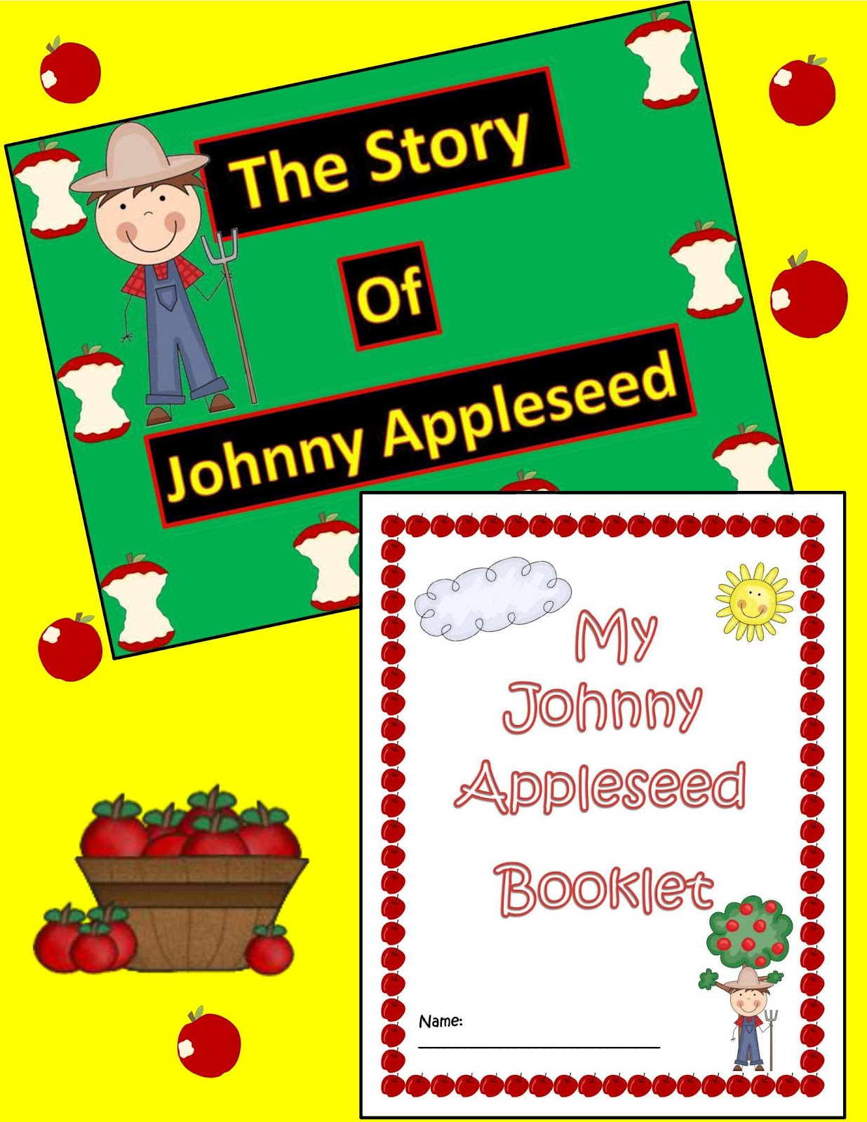 Engaging Lessons And Activities Johnny Appleseed Activities Powerpoint Amp Mini Booklet
