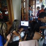 VIDEO CHAT CON MICHELLE SARMIENTO , JULIETH ROMAN , VERONICA VELASQUEZ Y ANGELA ROA Foto 3