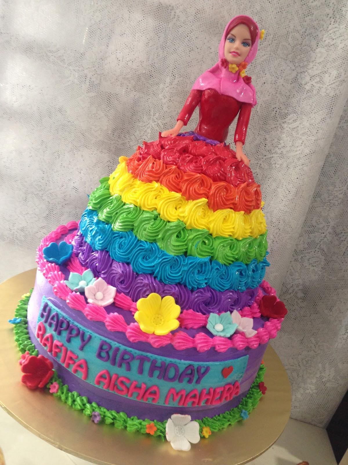 ninie cakes house Muslimah Princess Cake Princess