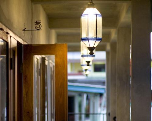 www.Tinuku.com Minimalist architecture and vintage décor in Pawon Cokelat Guest House Yogyakarta