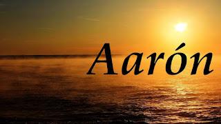 Aaron - significado etimologico