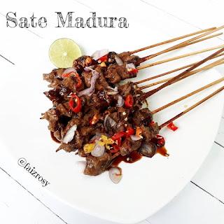 Resep Masakan Sate Madura By @faizrosy