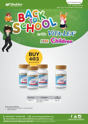Promosi Vitalea for Children