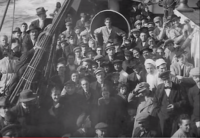 passengers on SS Kroonland Red Star Line
