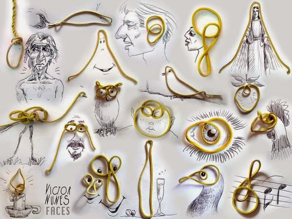 10 Amazing Creative Arts Made with Objects & Foods
