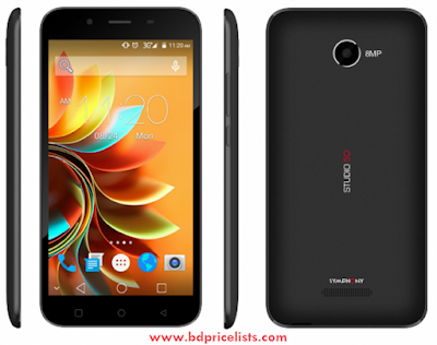 Symphony Xplorer Studio 50 Mobile Full Specifications And Price in Bangladesh