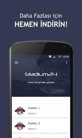 Stadium24 2.5 Android Aptoide için APK indir