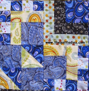 Crazy Man Quilt Pattern Block Tutorial