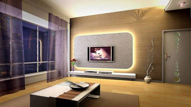 Modern Asian Living Room Designs 2016