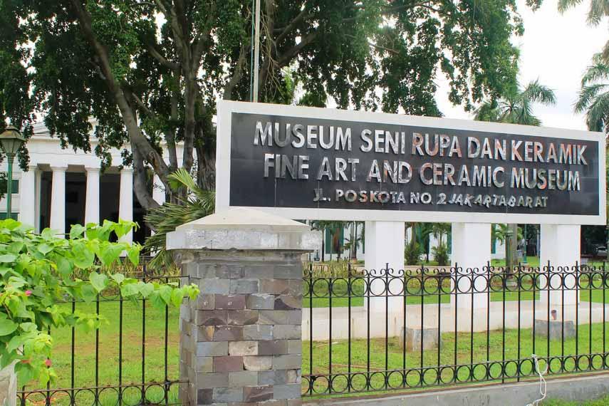 Wisata Edukatif di Museum Seni Rupa dan Keramik Jakarta