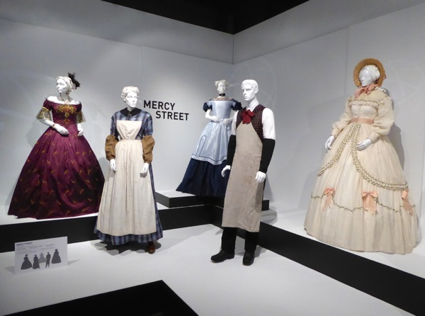Mercy Street costume exhibit