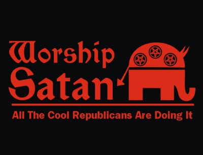 Image result for devil is a republican