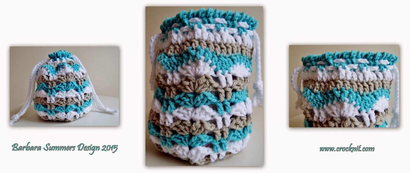 crochet bag, round bag, drawstring bag, fans, posts, free pattern, how to crochet