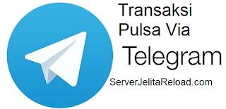 Cara Transaksi Pulsa di Server Jelita Reload
