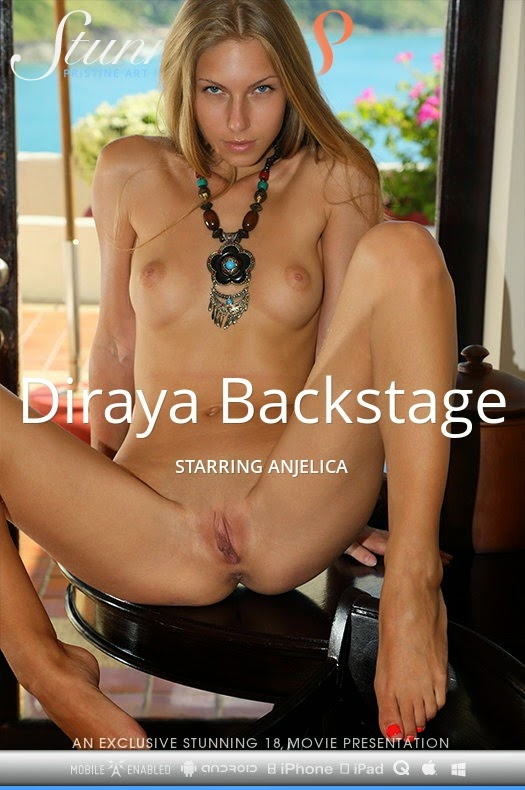 Stunning18 2014-09-22 Anjelica - Diraya Backstage (HD Video) 10120