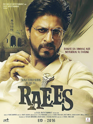 Raees 2017 Hindi 480p BluRay 400MB