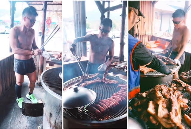 Aside from Ruo Yan, the barbeque joint located near the Poftonga Veoveo Art Village also houses other eye candies.