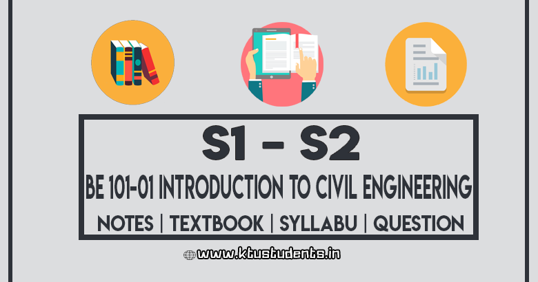 Introduction To Civil Engineering Be 101 01 Notes