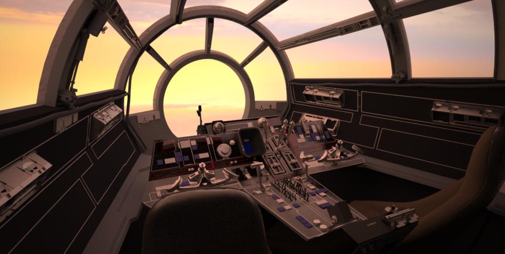 cockpit cloud city - photo #5