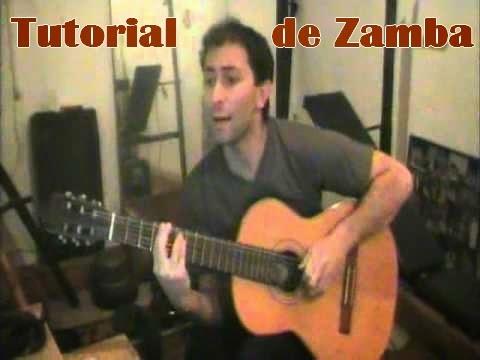 Clase de Rasgueo de Zamba, video