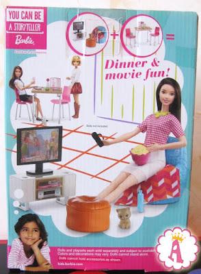 Вид на коробке сзади Movie Fun Playset