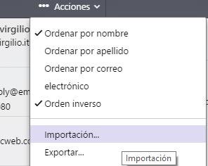 Ahora Yahoo permite importar contactos desde cualquier correo