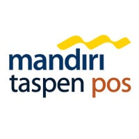 Logo PT Bank Mandiri Taspen Pos