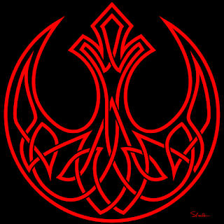 Rebel logo knot