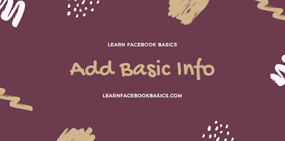 How to add basic information to my Page on Facebook