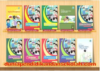 Download Lengkap Buku Siswa dan Buku Guru Kelas 1-6 (K-13 edisi revisi terbaru 2016) Semua Tema semester 1 dan semester 2