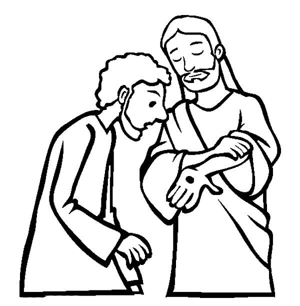 father prime  embracing doubting thomas